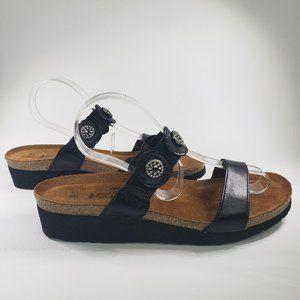 NAOT Marissa Black Rhinestone Embellished Sandal 8
